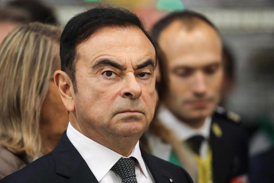 Carlos Ghosn, ancien PDG de Renault-Nissan